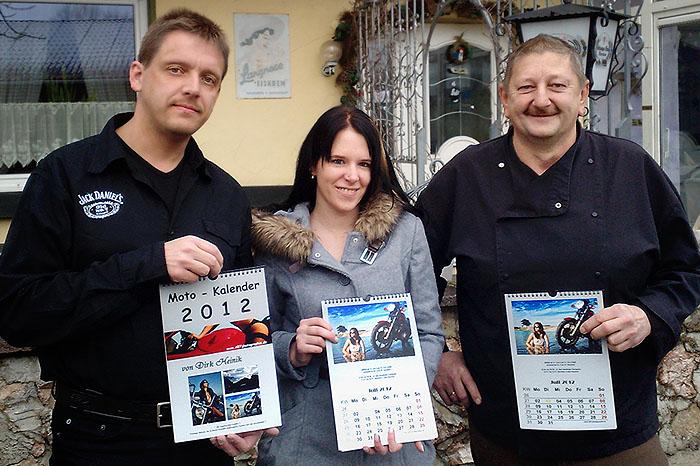 Übergabe des Kalenders in Bayern ;-)